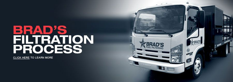 Brad's Filtration Process - Brad's Fuel Filtering and Fuel Polishing Services